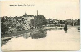 DEP 36 SAINT GAULTIER VUE PANORAMIQUE - France