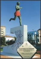 ITALIA CARPI (MO) 2008 - INAUGURAZIONE MONUMENTO DORANDO PIETRI - OLYMPIC GAMES LONDON 1908 - C.U. - Summer 1908: London