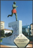 ITALIA CARPI (MO) 2008 - INAUGURAZIONE MONUMENTO DORANDO PIETRI - OLYMPIC GAMES LONDON 1908 - C.U.
