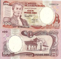 Colombia P426e, 100 Peso, Villa De Leyva (Boyaca), Old Printing Press - Kolumbien