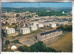 DOURDAN 91 - Vue Générale Aérienne ( Immeubles Cité HLM Résidence ) CPSM Dentelée Colorisée GFn° 7350 - Essonne - Dourdan