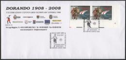 ATHLETICS / OLYMPIC - ITALIA CARPI (MO) 2007 - DORANDO PIETRI - OLIMPIADI LONDRA 1908 - MARATONA - OFFICIAL ENVELOPE