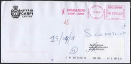 ATHLETICS / OLYMPIC - ITALIA CARPI (MO) 2008 - METER / EMA - DORANDO 1908-2008 - DORANDO PIETRI - OLIMPIADI LONDRA 1908