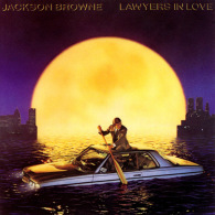 * LP *  JACKSON BROWNE - LAWYERS IN LOVE - Rock