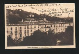 SALSOMAGGIORE - PARMA - INIZI 900 - GRANDE ALBERGO MILANO. FORMATO PICCOLO - Parma
