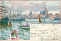 Allemagne -   ROSTOCK  - Hafen  ( Voir Timbre Verso ) - Rostock