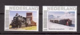 Trein, Train, Locomotive, Eisenbahn: Nederland Russische Sneeuwtrein + Trein Uit Canada, Persoonlijke Zegels - Treinen