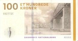 BILLETE DE DINAMARCA DE 100 KRONER DEL AÑO 2009  (BANKNOTE) - Dinamarca