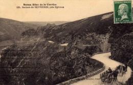 Beaux Sites De Corrèze - 151 - Rochers De Servières, Près D'Egleton  - Attelage De Boeufs - Eyboulet  Ussel - France