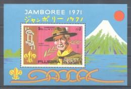 Fujeira - 1971 Scouts (I) Block MNH__(TH-10224) - Fujeira