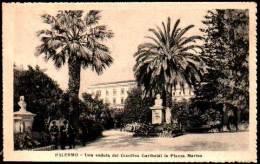 Palermo, Sicilia - Una Veduta Del Giardino Garibaldi In Piazza Marina - Sicily - Palermo