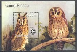 Guinea-Bissau - 2001 Birds (I) Block (1) MNH__(TH-11696) - Guinea-Bissau