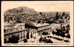 Palermo, Sicilia - Panorama Colla Cattedrale E Monte Pellegrino, Preso Dall'Osservatorio - Sicily - Palermo