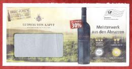 Infopost, Ludwig Von Kapff, Meisterwerk Aus Den Abruzzen, Frankierwelle (58497) - Machine Stamps (ATM)