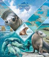 Solomon Islands. 2013 Sea Lions . (417b) - Altri