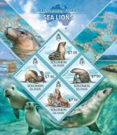 Solomon Islands. 2013 Sea Lions  (417a) - Altri