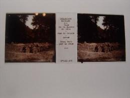 Photo Plaque De Verre Stéréoscopique Guerre 14-18 Arras Trou Fait Par Un Obus - Diapositiva Su Vetro