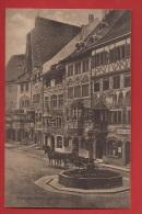 CDS9-29 Stein Am Rhein , Attelage, Fontaine, Brunnen. Gelaufen Nach Erlen Grabs Rheintal, Briefmarke Fehlt. - SH Schaffhouse