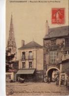 Châteaubriant.. Animée.. Place De La Motte - Châteaubriant