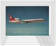 """AIR CANADA  """" L 1011 """" - Publicités"""