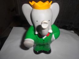 FIGURINE POUET POUET  BABAR Elephant  OFFERT PAR PAMPERS - Unclassified