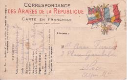 Carte Postale - Correspondance Des Armées De La République - 7 Regt D'Artillerie A Pied - 1915 (7325) - Militaria
