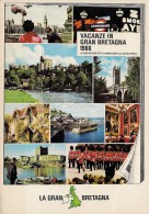 # BRITISH TOURIST OFFICE ITALY 1966 Advert Pubblicità Reklame Tourism Tourisme Turismo UK England Scotland Wales London - Posters