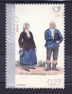 2023/ Slowenien Slovenia Slovenie 2012 Mi.No. 944 ** MNH Volkstracht National Costume From Bohinj - Eslovenia