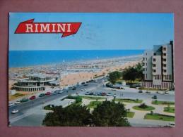 Rn1297)  Rimini - Giardini, Lungomare E Spiaggia - Rimini