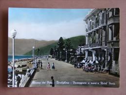 Im1235)  Riviera Dei Fiori - Bordighera - Passeggiata A Mare E Hotel Paris - Imperia