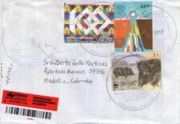 Lote SC561, Argentina, 2012, Sobre, Cover, Upaep, WWF, Puerco Espin, Uniendo Culturas, Porcupine - Autres