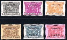 1911  Timbres Taxe Surchargé «REPUBLICA» Et Nouvelles Valeurs  Afinsa 192-7 * MH - 1910-... République