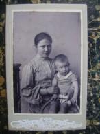 Romania-photograhfer ??-70x110mm-cca 1895 (2718)) - Alte (vor 1900)