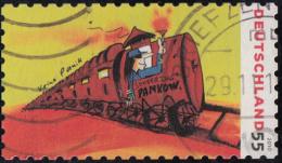 Timbre D' Allemagne  2010  '' Yvert  2633 ''  55 C. '' Train Spécial Pour Pankow '' - Gebraucht