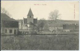 Druyes-Vue Est (Écrit En Rouge)-(CPA) - France