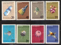 Poland 1966 - Spacecrafts - 1944-.... Republic