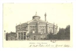 Cp, 80, Amiens, Cirque Municipal, Voyagée - Amiens
