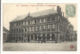 Cp, 80, Amiens, Hôtel Des Postes Et Télégraphes, Voyagée - Amiens