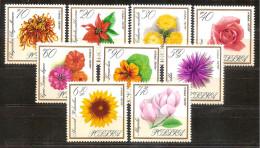 Poland 1966 - Flowers - 1944-.... Republic