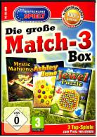 PC - Spiel  (CD-ROM) :  Match 3 Box : Mystic Mahjongg + Jewel Puzzle + Ashley Jones - PC-Spiele