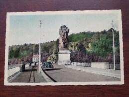 La Gileppe N° 1 Le Barrage Et Le Lion / De Versperring En De Leeuw - Anno 1949 ( Zie Foto Voor Details ) !! - Baelen