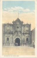 UNIVERSIDAD DE CUZCO CUSCO PERU CPA ANIMEE CIRCA 1910 EDITOR H. G. ROZAS DOS DIVISE UNCIRCULATED TBE