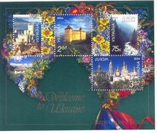 2004. Ukraine,  Europa 2004, S/s, Mint/** - 2004