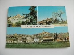 SALUTI DA MONTEGROSSO VEDUTE PIEMONTE ASTI - Souvenir De...