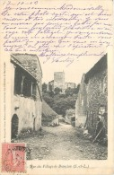 71 BRANCION - Rue Du Village - Frankreich