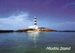 Postcard - Mudou Island Lighthouse, Taiwan. A - Lighthouses