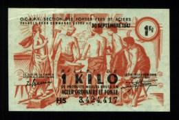 Bon De Matière 1 Kg Acier Ordinaire & Fonte (art.N° 134 ) - Bonds & Basic Needs