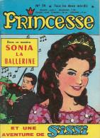 Princesse N° 34 - Editions De Châteaudun - Avec Sissi Et Sonia - Film Raconté Genghis Khan - Septembre 1965 - TBE - Kleine Formaat