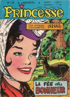 Princesse N° 18 - Editions De Châteaudun - Avec Sissi Et Sonia - Film Raconté Deux Têtes Folles - Décembre 1964 - BE - Kleine Formaat