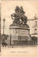 CPA - CHARENTE -   COGNAC -Statue De François 1er - Cognac